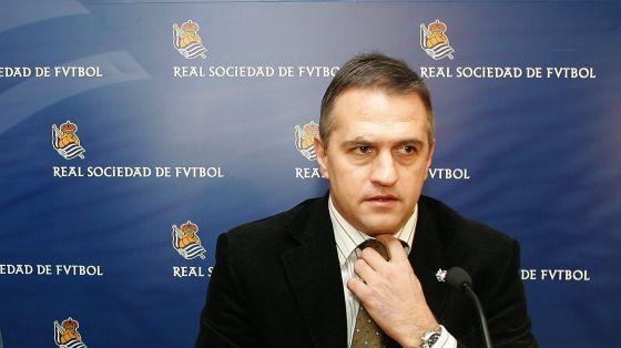 José Luis Astiazarán, LFP president.