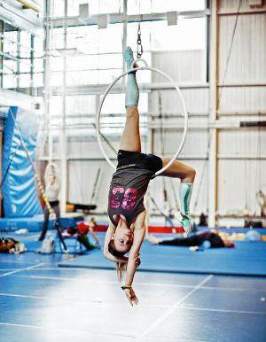 Los acróbatas se preparan a conciencia tanto en el plano artístico como en el atlético.