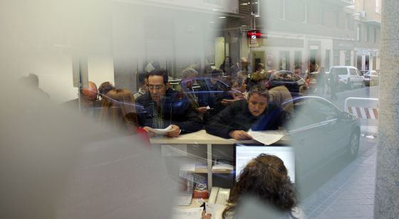 The coordination office in Madrid for dependents and their carers.