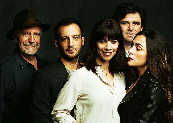 Javier Aguirresarobe, Alejandro Amenábar, Maribel Verdú,Fernando Bovaira y Candela Peña.