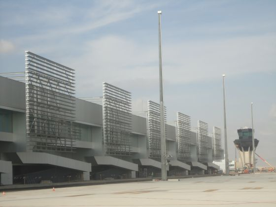Corvera airport in Murcia has yet to be officially opened.