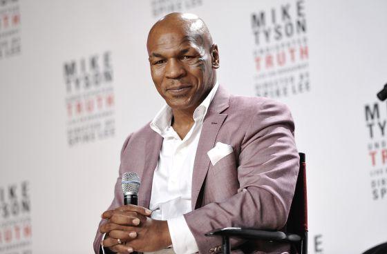 El exboxeador Mike Tyson.