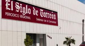 Fachada del diario 'El Siglo de Torreón'