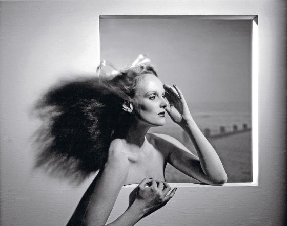 Grace Coddington en 1974, cuando todavía era modelo