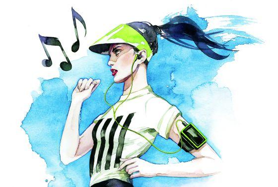 Encuentre su música para correr