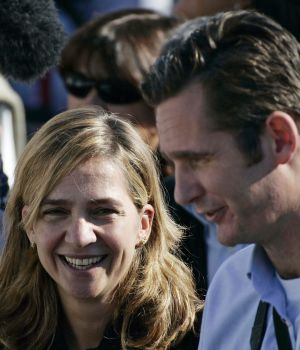 Spain's Infanta Cristina and her husband Iñaki Urdangarin.