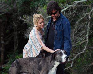 La pareja en su finca de Maldonado (Uruguay).