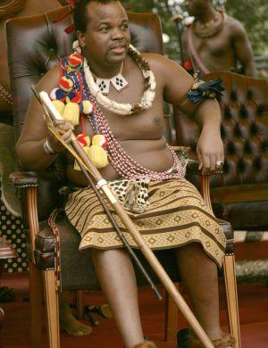 El rey de Suazilandia.