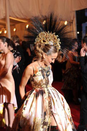 La actriz Sarah Jessica Parker en la Gala del MET.