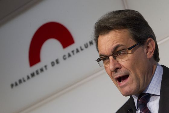 Artur Mas speaks after hearing the Constitutional Court's ruling.