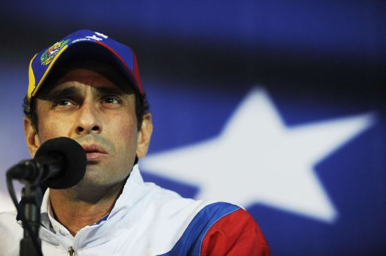 An archive image of Venezuelan opposition leader Henrique Capriles.