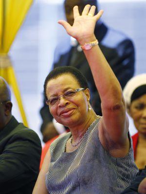 Graça Machel, actual esposa de Mandela.