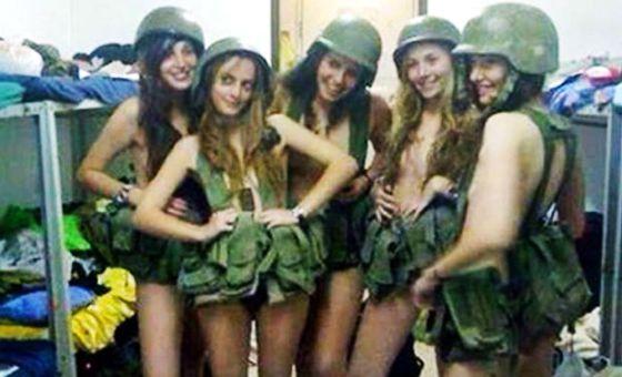 Un grupo de soldados de Israel.