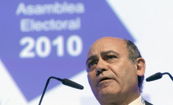 The former CEOEpresident, Gerardo Díaz Ferrán.