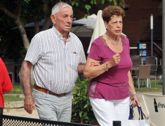 Emilio y Marisa, padres de la extenista Arancha Sánchez Vicario.