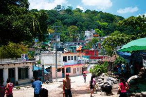 Una vista de la localidad de Coyolillo (Veracruz).
