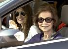 La princesa Letizia y sus hijas, en Mallorca