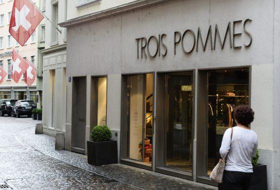 La exclusiva tienda de moda Trois Pommes, en Zúrich.
