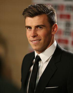 Gareth Bale en su presentación en el Bernabéu el pasado lunes.