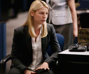 Claire Danes, laagente con que mantiene una electrizante relación con un héroe nacional convertido en terrorista en 'Homeland'.