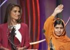 La franqueza de Malala se impone en la gala de premios de los Clinton