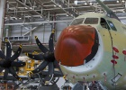 First A-400M aircraft rolls off production line in Seville