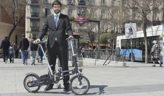 Una de las bicicletas que ofrece en alquiler la firma Mobeo.