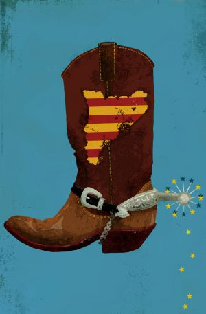 Cataluña y Europa: una de vaqueros