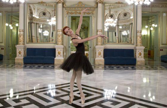 Uliana Lopatkina, del Ballet Mariinsky, en el Teatre del Liceu de Barcelona.