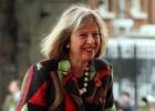 La ministra ('fashionista') de Interior británica marca tendencia
