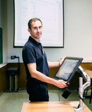 El profesor de matemáticas Pablo Gregori.
