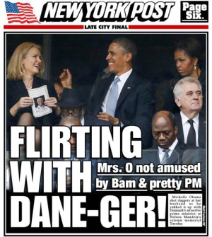 Portada del 'New York Post'.