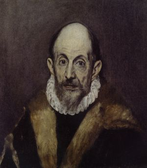 A self-portrait from around 1595.