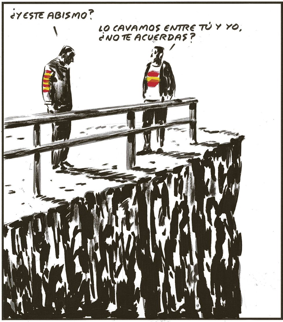• 'DISSIDENTS'. El precio de la discrepancia en la Cataluña nacionalista. 1390320174_187050_1390320253_noticia_normal
