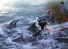 Hollywood pide a Caroline Kennedy que pare la caza de delfines