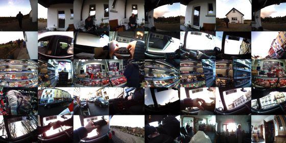 Una muestra de las imágenes que hace al día una cámara que se dispara automáticamente.