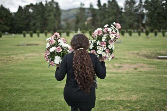 Luz Marina Bernal es una de las diecinueve 'Madres de Soacha'.