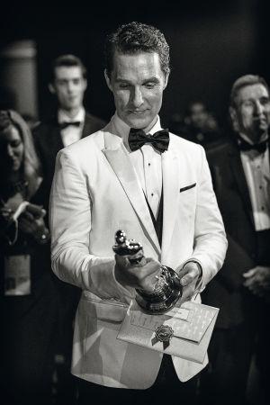 El intérprete tras recibir su reciente Oscar al mejor actor por 'Dallas Buyers Club'.