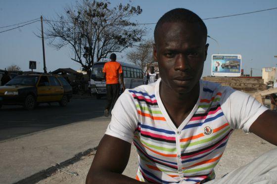 Alioune Diop. Nacido en Dakar hace 29 años, fue expulsado el pasado 27 de marzo en el un vuelo desde España, donde llegó en cayuco en 2006.