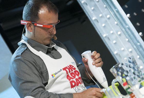 C mo cocinar con unas google glass icon el pa s for Cocina con hidrogeno