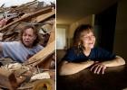 Antes y después de un tornado