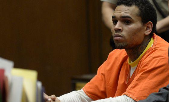 Chris Brown, en libertad tras 108 días en prisión