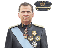 The first day of King Felipe VI's reign