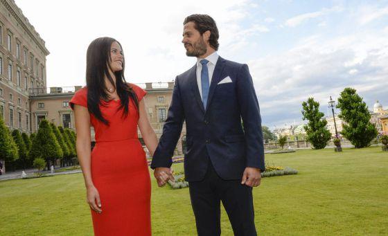 El príncipe de Suecia se casa con su novia 'stripper'