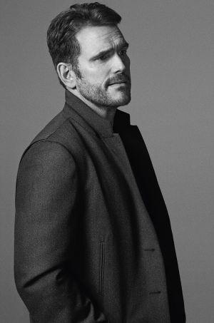 Matt Dillon, con un abrigo de Ermenegildo Zegna