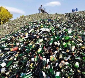 Planta de tratamiento de botellas en Koblenz (Alemania).