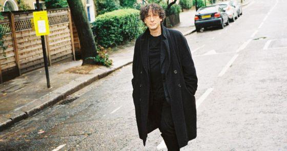Neil Gaiman fotografiado por ICON en 2012