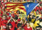 Crowds fill the Catalan capital to demand the right to decide