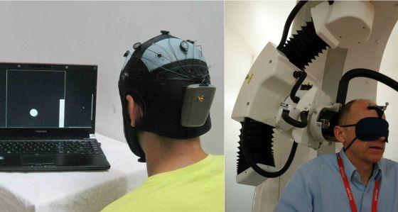 El emisor y el receptor que permiten la transmisión de pensamiento.