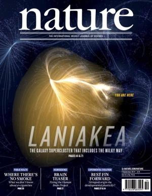 Portada de la revista 'Nature'.